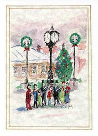 Oakville Millenium Winter Card