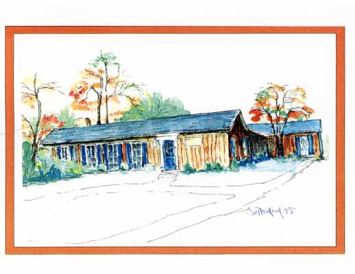 Oakville Cottage Card